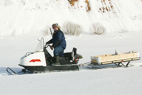 Отечественный снегоход